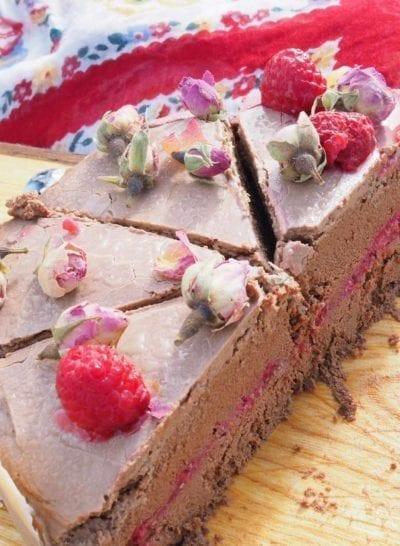 vegan raw chocolate cake