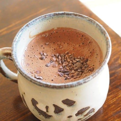 ヴィーガンホットチョコレート