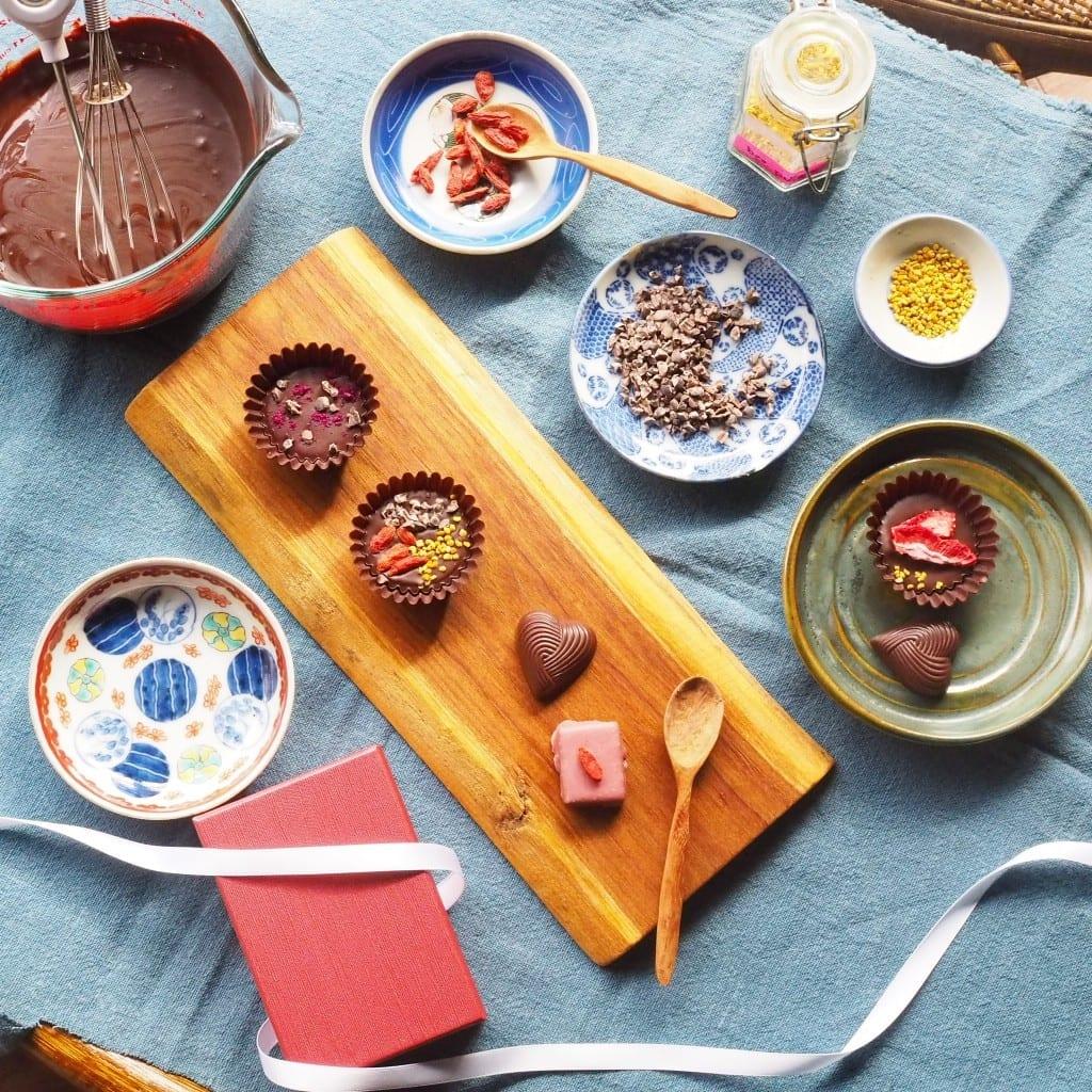 チョコレートの簡単な作り方