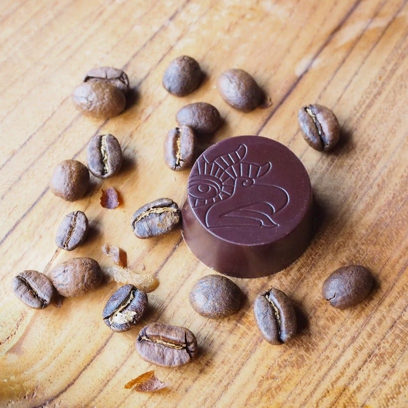 ヴィーガン深煎りダークローチョコレート