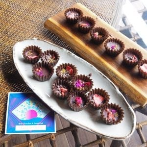 Low chocolate with plenty of superfood