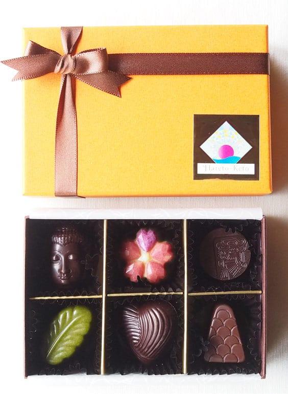 ビーガンのローチョコレート