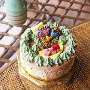 乳製品不使用のローヴィーガンケーキ
