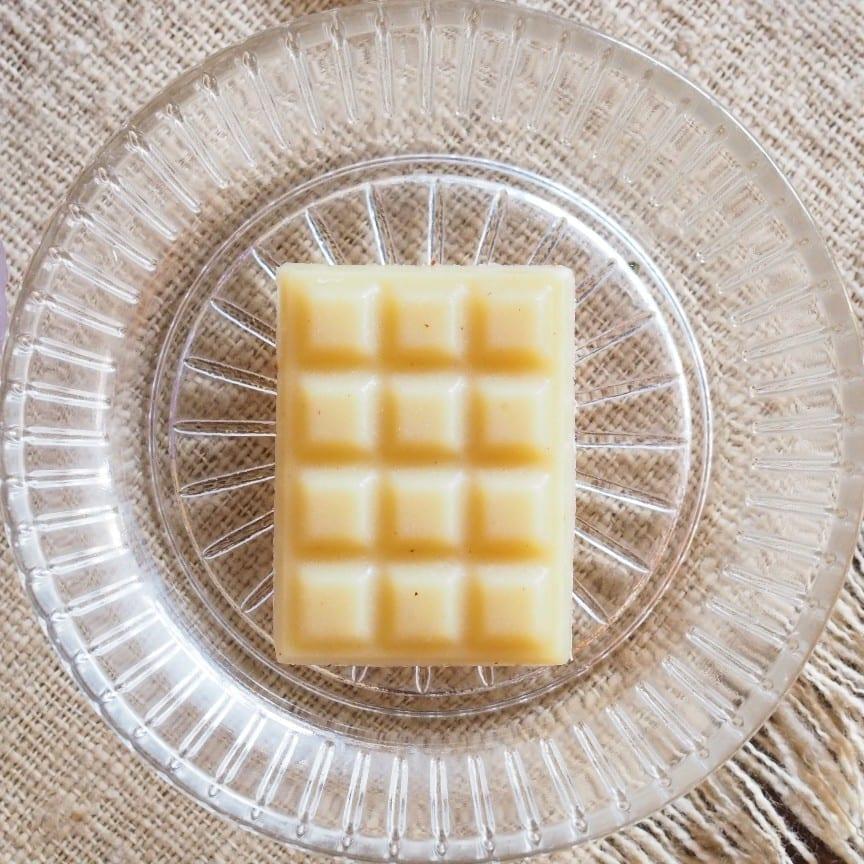 ヴィーガンなので乳製品不使用のミルクチョコ