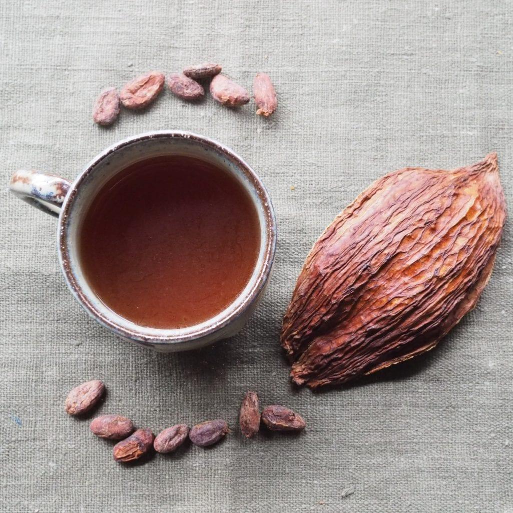 カカオ豆の栄養満点でデトックスや免疫作用を高めるカカオティー