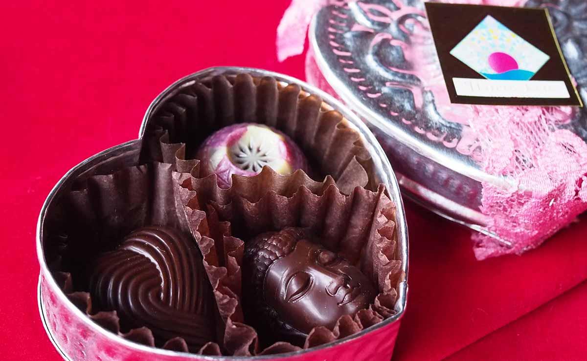 ヴィーガンローチョコレートのバレンタインデー