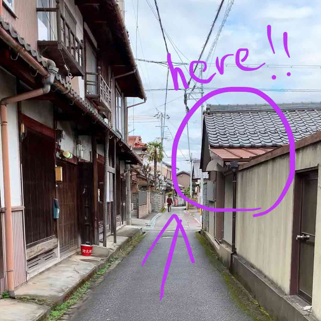 vegan cafe in Samurai-village, Hikone