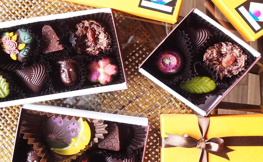 愛と調和のためのローチョコレート