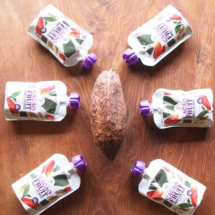 カカオの果肉カカオパルプの通販