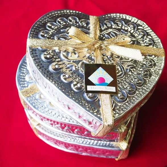 バリのハンドメイドのアルミニウムBOX