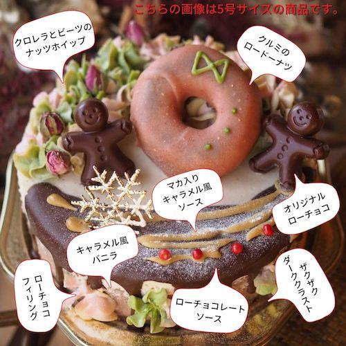 ヴィーガンクリスマスケーキ