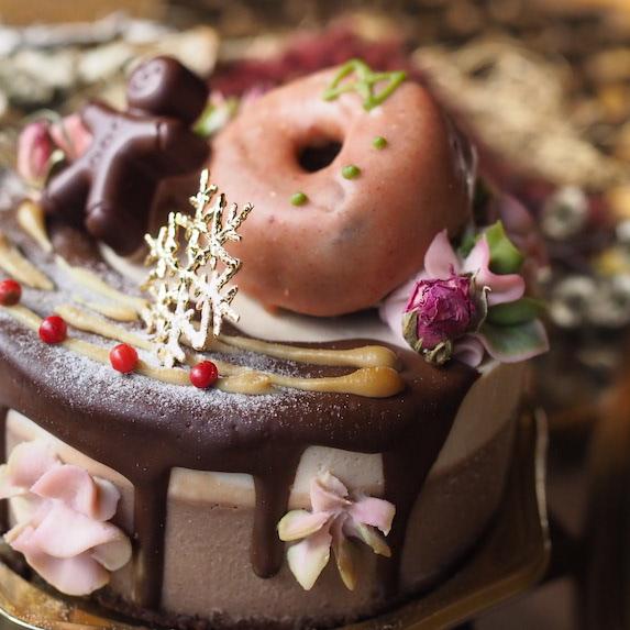 乳製品不使用の安心ローケーキ