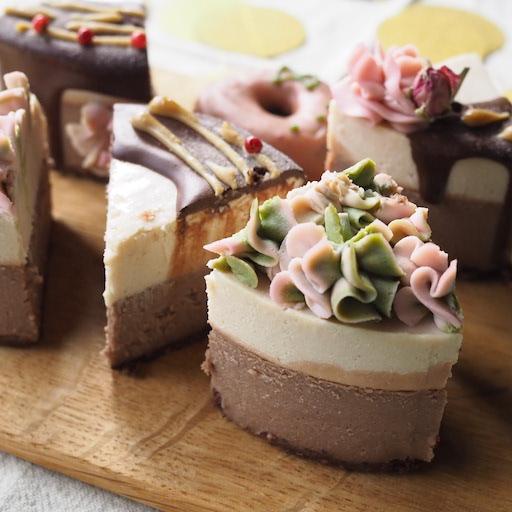 乳製品不使用のヴィーガンケーキ