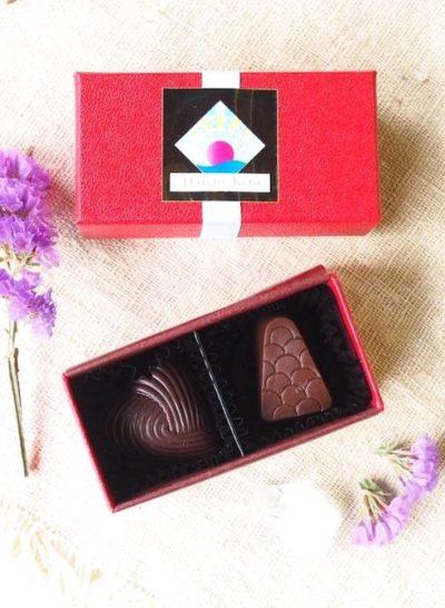 オーガニックな生カカオのチョコレート