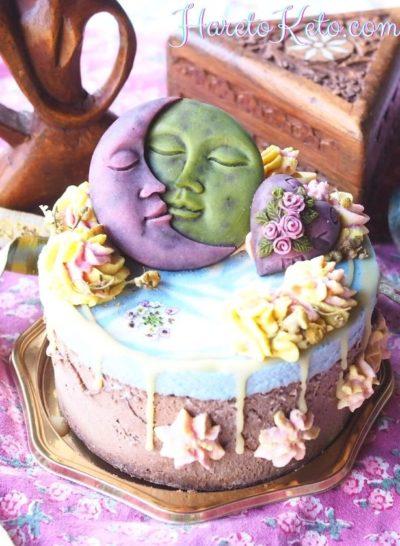 オーガニックカカオを使用したチョコレートケーキ