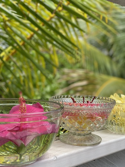 ハワイのお花を使用したフラワーエッセンス